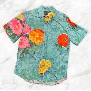 VTG Jams World Tropical Floral Hawaiian Shirt